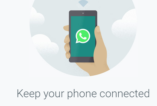 Send a file from a cellphone to a computer using Whatsapp