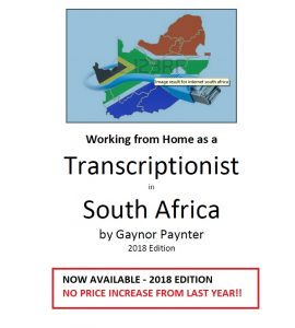 Transcription e-book south africa