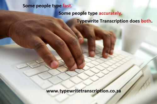 fast and accurate typing