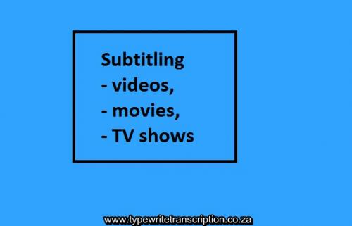 subtitling south africa